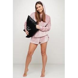Женский костюм для дома и отдыха 098 розовый