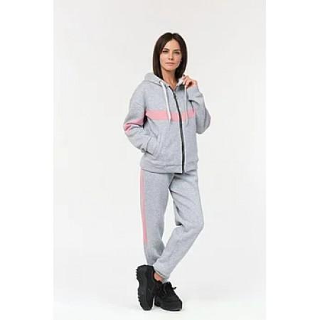 Женский спортивный костюм 302 серый